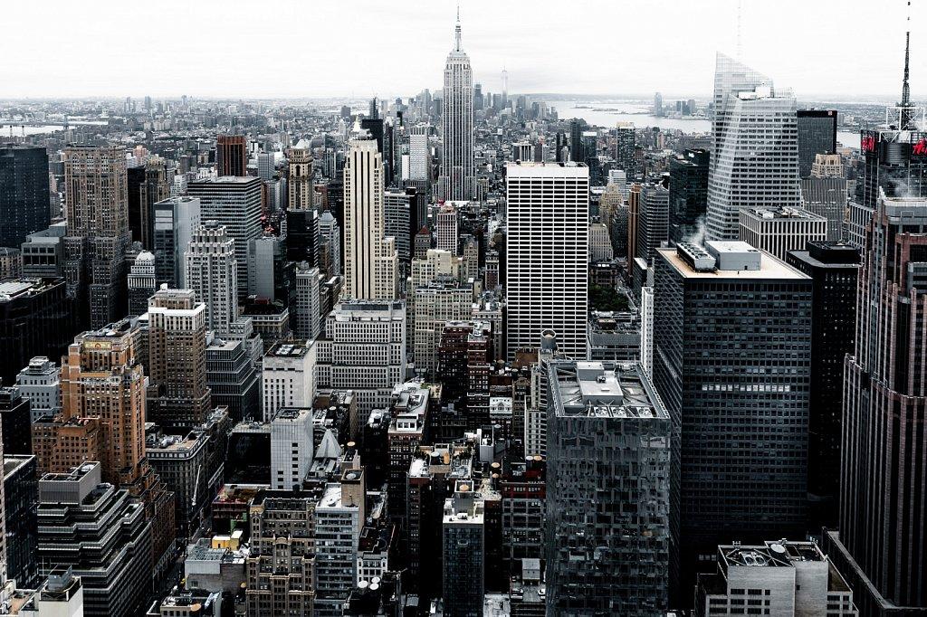 Skyline Downtown Manhattan #1