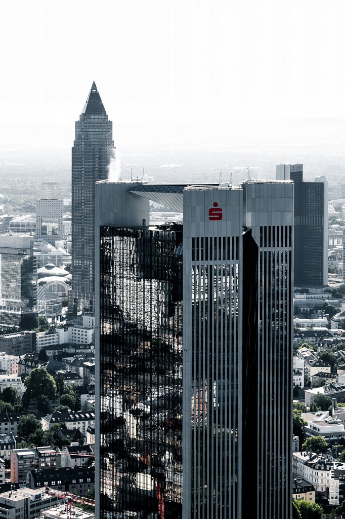 Sparkasse Hochhaus und Messeturm
