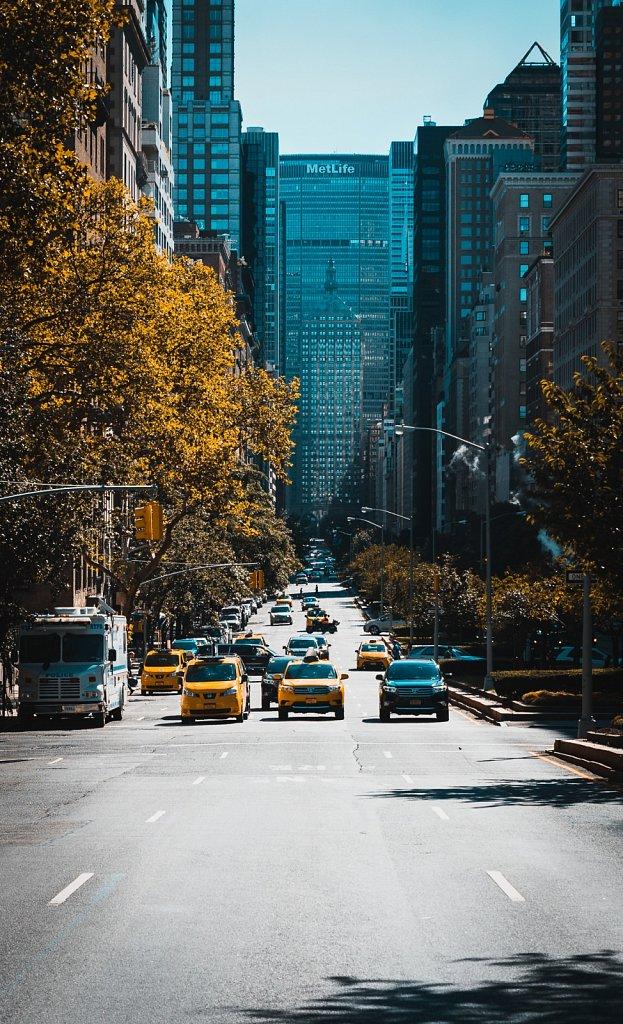 Straßen von New York