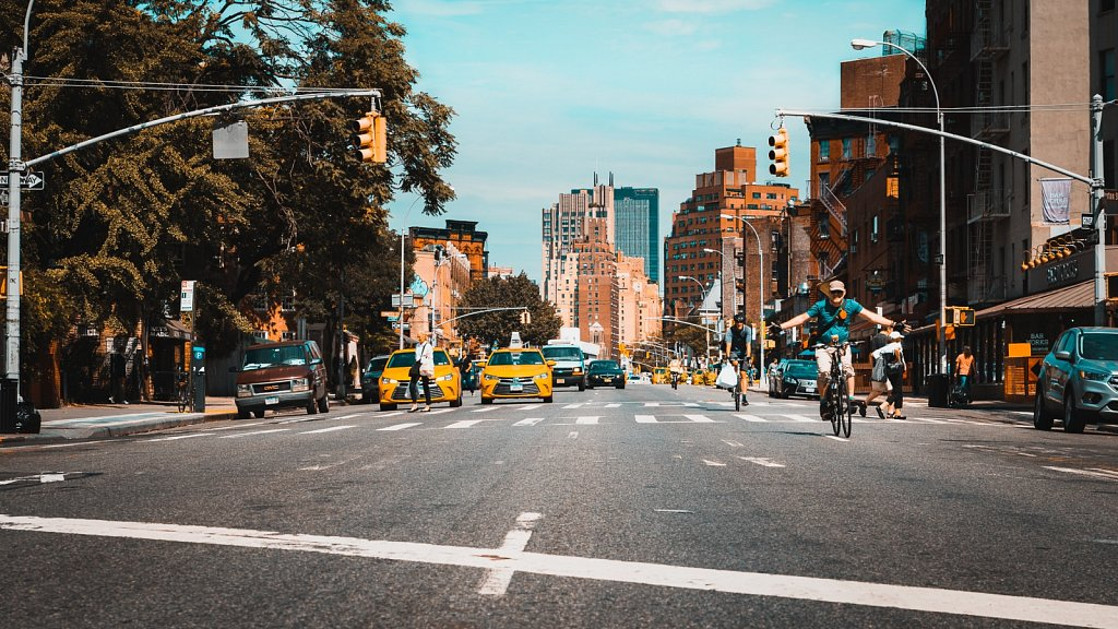 Straßen von New York City