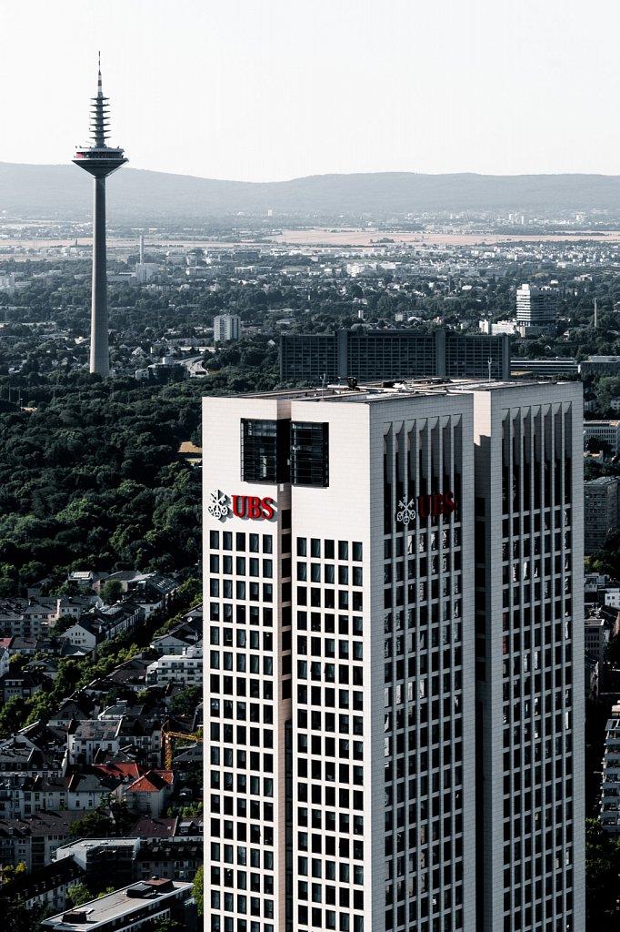 UBS Hochaus und Fernsehturm