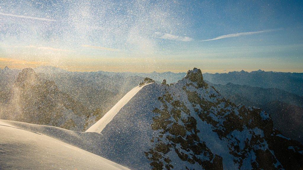 Windboe auf 4000m