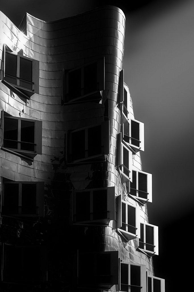 Gehry-Gebäude Düsseldorf #2