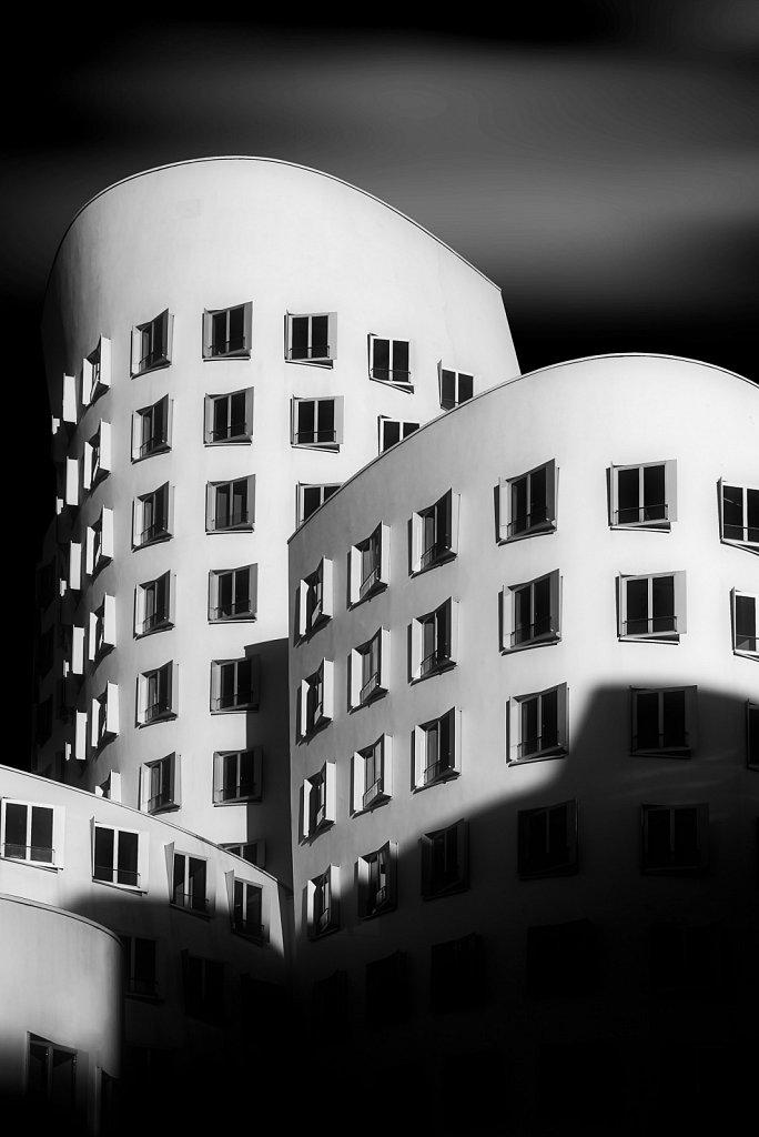 Gehry-Gebäude Düsseldorf #3